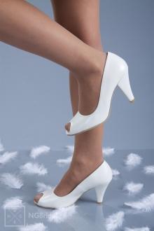 Обувка с 8 см ток - 829